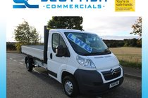 Citroen Relay 35 L3 HDI dropside stunning condition 38 thousand miles years mot