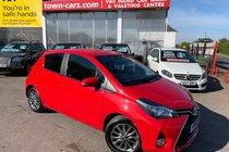 Toyota Yaris VVT-I ICON 23892 MILES SAT NAV CRUISE CONTROL REVERSING CAMERA SERVICE HISTORY £30 ROAD TAX