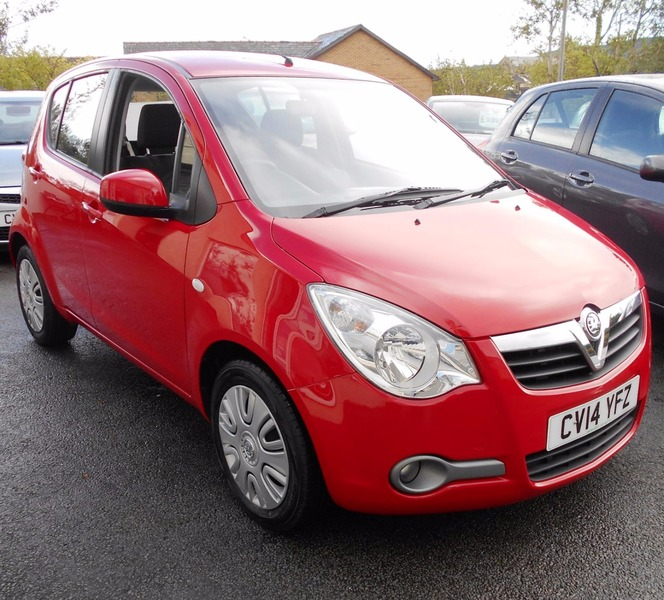 Used Vauxhall Agila 1.0I 12V ECOFLEX S For Sale Swansea