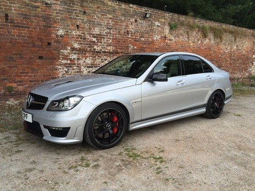 Mercedes C Class 6.3 C63 AMG Edition 507 MCT 4dr