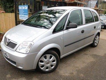 Vauxhall Meriva 1.6I LIFE A/C