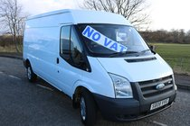 Ford Transit LWB MK7 EXCELLENT CONDITION FULL YEARS MOT PLY LINED *NO VAT* FULLY WOOD LINED PLUS BULK HEAD