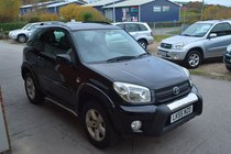 Toyota RAV4 VVT-I XT-R 3 DOOR MANUAL PETROL