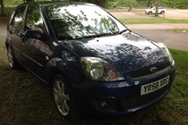 Ford Fiesta Zetec Blue 1.25 075