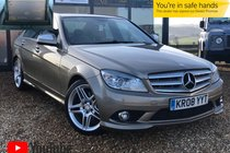 Mercedes C Class C320 CDI SPORT  JAN 2021 MOT + JUST SERVICED + SAT NAV + DVD PLAYER + HEATED LEATHER SEATS