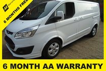 Ford Transit 290 LIMITED LR P/V 6 MONTH WARRANTY-12 MONTH MOT-12 MONTH SERVICE-12 MONTH AA COVER