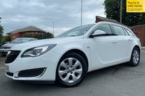 Vauxhall Insignia TECH LINE CDTI ECOFLEX S/S NAV used car in White