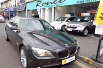 BMW 7 SERIES 730d SE AUTO ONLY COVERED 18,000 MILES