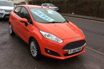 Ford Fiesta TITANIUM TDCI BUY NO DEP & £38 A WEEK T&C APPLY