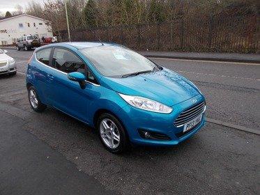 Ford Fiesta 1.0 START/STOP ZETEC 80PS - NUY NO DEPOSIT FRPM £32 A WEEK