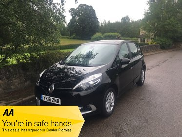 Renault Scenic LIMITED NAV DCI