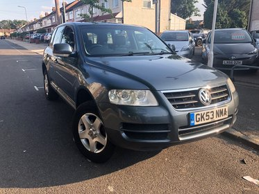 Volkswagen Touareg TDI.Part Exchange To  Clear