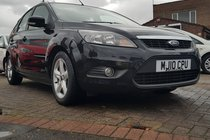 Ford Focus 1.6 TDCi DPF Zetec 5dr p/x welcome FSH, LONG MOT