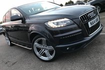 Audi Q7 3.0 TDI QUATTRO S LINE PLUS 1OWNER VAT QUALIFYING