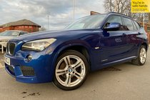 BMW X1 XDRIVE20d M SPORT used car in le mans blue