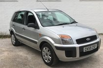 Ford Fusion 1.4 Style + 5dr 1 FORMER KEEPER , GOOD HISTORY