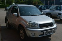 Toyota RAV4 VVT-I XT3 3 DOOR 4X4 * LOW MILEAGE * LEATHER *