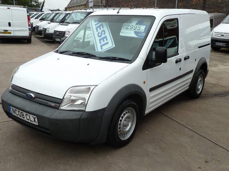 d9e2f84e42 ... T200 L SWB 75 TDCI No VAT - 2008 (08 plate). Ford Connect