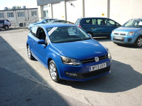 Volkswagen Polo 1.2 MATCH EDITION 70PS Finance Available