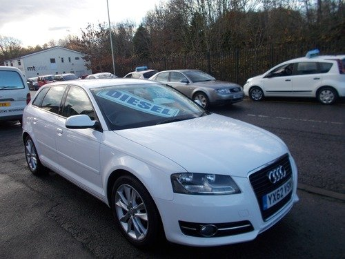 Audi A3 1.6 TDI SPORT SPORTBACK BUY NO DEP & £45 A WEEK