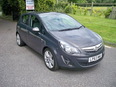 Vauxhall Corsa 1.2I VVT A/C SE LADY OWNER FULL SERVICE HISTORY HIGH SPEC