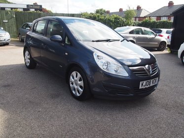 Vauxhall Corsa 1.2I 16V CLUB A/C FULL SERVICE HISTORY ! 36,923 MILES ! 99% FINANCE APPROVAL !