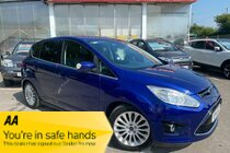 Ford C-Max TITANIUM TDCI 6 SPEED CLIMATE CONTROL CRUISE CONTROL DAB RADIO AUX BLUETOOTH PHONE REAR SENSORS 1 FORMER OWNER SERVICE HISTORY