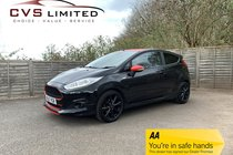 Ford Fiesta 1.0 T EcoBoost ST-Line Black Edition (s/s) 3dr