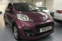Peugeot 107 ALLURE ONE OWNER ONLY 5250 MILES!!