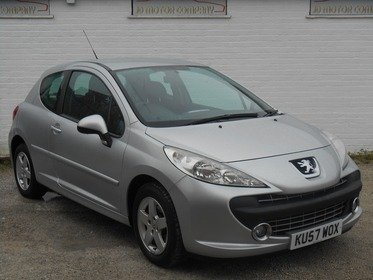 Peugeot 207 1.4 16v Sport 3dr LOW MILEAGE , GREAT CONDITION