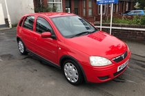 Vauxhall Corsa DESIGN 16V TWINPORT PART X TO CLEAR