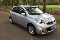 Nissan Micra ACENTA FULL NISSAN HISTORY SAT NAV BLUETOOTH AND REVERSE PARKING SENSORS