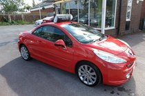 Peugeot 207 GT COUPE CABRIOLET,BRIGHT CAR