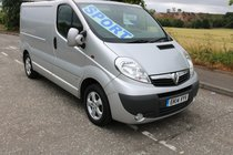 Vauxhall Vivaro 2700 CDTI SPORTIVE 70 thousand miles high spec ply lined **finance available**