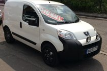 Peugeot Bipper 1.3 HDi 75 S Tepee Stop-Start - BUY NO DEPOSIT FROM £21 A WEEK . BUY THIS VAN WITH NO VAT ADDED