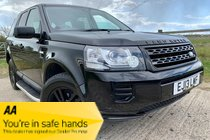 Land Rover Freelander TD4 BLACK AND WHITE