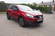 Nissan Qashqai DCI 360 IS PANROOF SATNAV CAMERA PHONE ! £30 YEAR TAX ! 99% FINANCE APPROVAL !