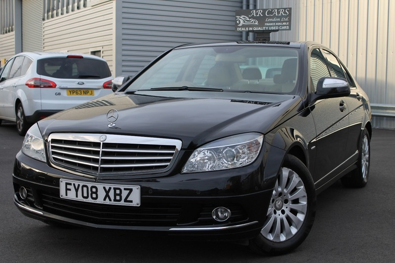 Mercedes C Class C 180 Kompressor Elegance Sat Nav Leather