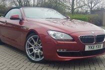 BMW 6 SERIES 640i SE Convertible