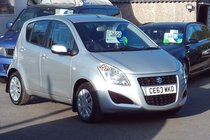 Suzuki Splash SZ21.0 £20 per year road tax