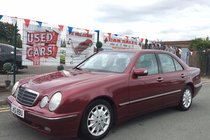 Mercedes E Class E240 ELEGANCE 2.6 AUTO PETROL *** LOW 74,980 MILES *** LAST OWNER HAS OWNED THIS VEHICLE SINCE 2003 *** MERC SERVICE HISTORY