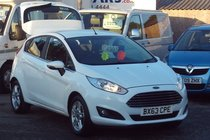 Ford Fiesta ZETEC 1.25 64,000 MILES 1 OWNER SERVICE HISTORY