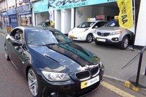 BMW 3 SERIES 320i M SPORT CONVERTIBLE, PETROL, AUTO, ULEZ EXEMPT