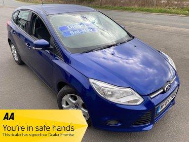 Ford Focus 1.6 TDCI DIESEL EDGE ECONETIC SAT NAV FREE £0 TAX £25 WEEK NO DEPOSIT CD/MP3/USB A/C BLUETOOTH PARK SENSORS CRUISE FAMILY HATCH