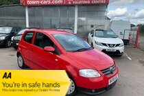 Volkswagen Fox URBAN FOX 3 DOOR ONLY 46932 MILES FULL SERVICE HISTORY 2 FORMER LOCAL OWNERS RADIO CD USB AUX £155 FOR 1 YEARS ROAD TAX