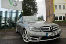 Mercedes C Class C220 CDI BLUEEFFICIENCY AMG SPORT ED125