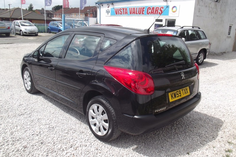 Peugeot 207 1.6 HDI 90 S SW, 1 OWNER ,&30 ROAD TAX | Vista Value Cars