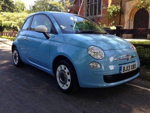 Fiat 500 1.2I COLOUR THERAPY S/S STUNNING COLOUR, JUST 30 POUNDS A YEAR TO TAX