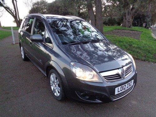 Vauxhall Zafira 1.8I 16V  DESIGN 140PS
