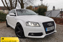 Audi A3 2.0 TDI S LINE SPORTBACK SPECIAL EDITION BLACK EDITION 5dr MANUAL